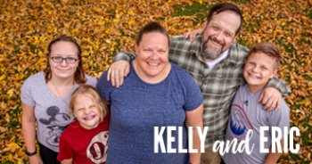 Meet Kelly and Eric, Alex, Barrett and Cole.